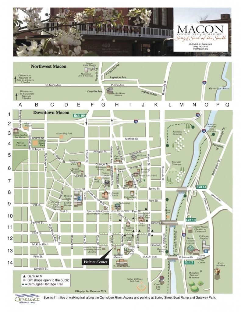 Downtown Macon Map - copie