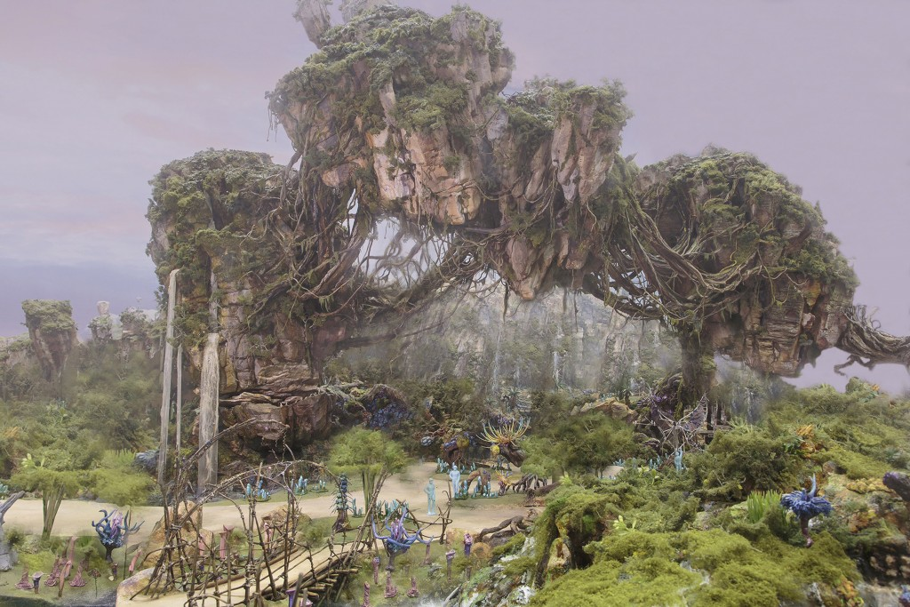 Latest Rendering Released as Disney Continues Design Work on the World of AVATAR